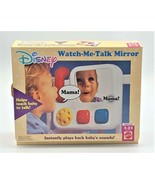 Mattel Disney Watch Me Talk Mirror Infant Crib Play Teach Baby To Talk V... - $49.99