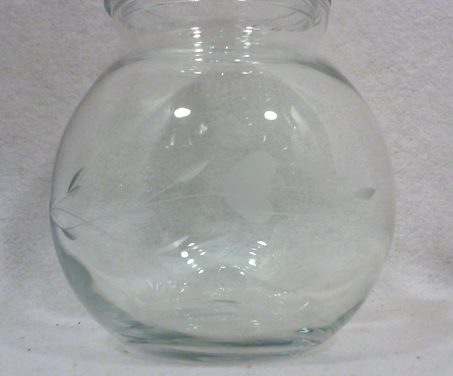 Vintage Crystal Spice or Apothecary Jars-Set of Eight
