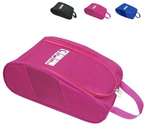 Portable Oxford Travel Shoe Tote Bag, Waterproof Shoe Packing Storage Gym - $25.38