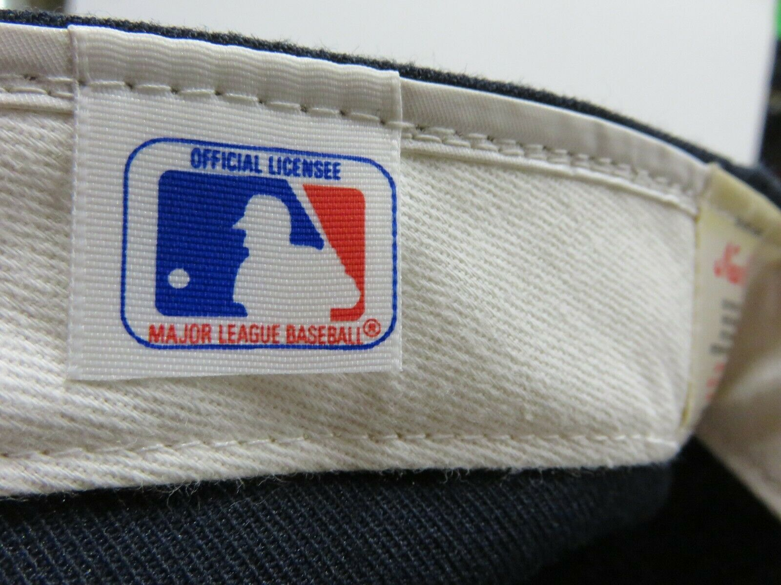 Vtg 80s New Era Minnesota Twins MLB Baseball Fitted Hat Size 7 3/4 Made in USA