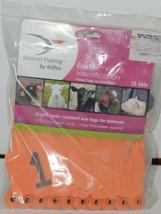 Destron Fearing DuFlex Visual Livestock Id Panel Tags Orange XL 25 Sets 1-25 image 1