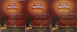 Trung Nguyen Gourmet Blend Ground Coffee Net Wt. 17.6 oz ( Pack of 3 ) - $34.64