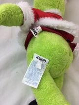 Build A Bear BAB Dr Seuss Grinch The Movie 2018 Stuffed Plush With Sound Box  image 4