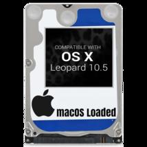 macOS Mac OS X 10.5 Leopard Preloaded on Sata HDD - $12.99+