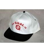 The Goals is 0  New baseball cap - $4.99