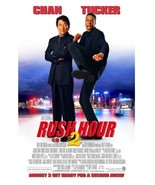 2001 RUSH HOUR 2 Movie POSTER 13.5x20 NEW Jackie Chan Chris Tucker - $7.99