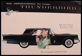 1959 Ford Thunderbird T-Bird Original Brochure 59 - $24.71