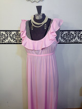 1960's Candy Pink Pin Up Lingerie by Mr PJ, Size Medium, Vintage Bombshe... - $29.99