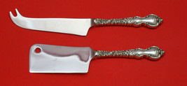 DU BARRY BY INTERNATIONAL STERLING SILVER CHEESE SRVR SERVING SET 2P HHWS CUSTOM - $110.30