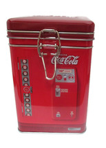 Coca-Cola Tin Canister/Container with metal latch/Good Things to Eat - $9.89