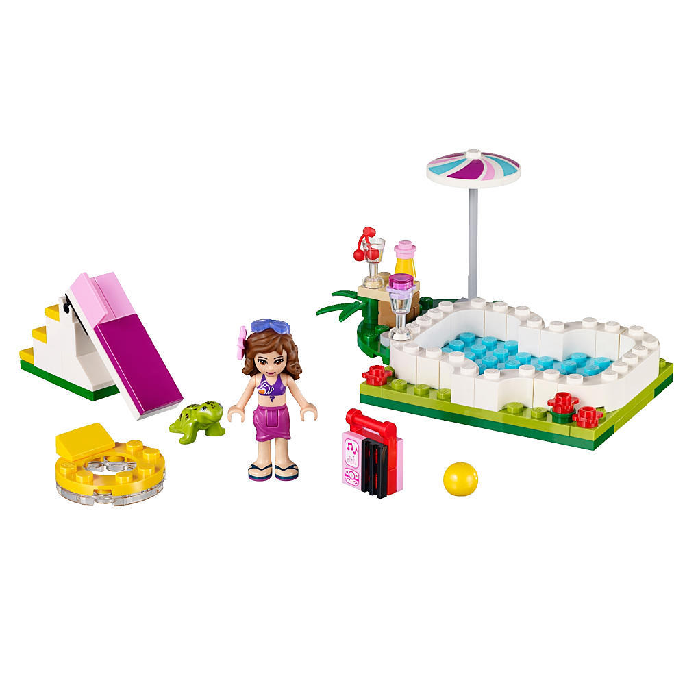 lego friends 41090 olivia 39 s garden pool set lego