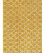 TRELLIS SCROLL LEMON YELLOW 9' x 12' HANDMADE  ... - $729.00