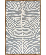 Blue Zebra 100% Wool, 2000-Now, 5' x 8' and Ani... - $299.00