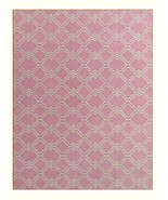 Trellis Scroll Pink 5x8 Kids Persian Style Wool... - $299.00