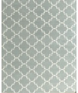 Trellis Porcelain Blue 3' x 5' Contemporary Sty... - $135.15