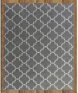 TRELLIS GRAY 9X12 ft CONTEMPORARY STYLE HANDMAD... - $729.00