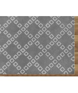 LATTICE SQUARES GRAY 8' x 10'HANDMADE PERSIAN STYLE WOOLEN AREA RUG - $489.00