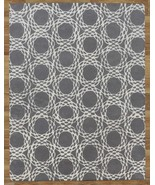 Arabesque Scroll Gray 8' x 10'  Handmade 100% W... - $489.00