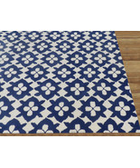 Diamond Basic Blue 5' x 8' Handmade Persian Sty... - $299.00