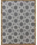 Arabesque Scroll Gray 5' x 8'  Handmade 100% Wo... - $299.00