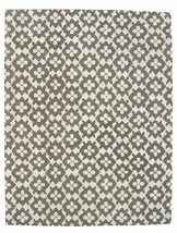 Hand Tufted Diamond Basic Gray 3' x 5' Contemporary Woolen Area Rug Carpet - $135.15