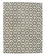 Hand Tufted Diamond Basic Gray 3' x 5' Contemporary Woolen Area Rug Carpet - $135.15
