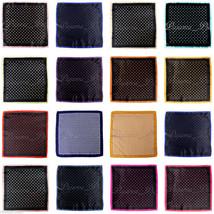 "NEW Men's Polka Dots Layers Pocket Square Handkerchief 12"" x 12 "" inches... - $4.84+"