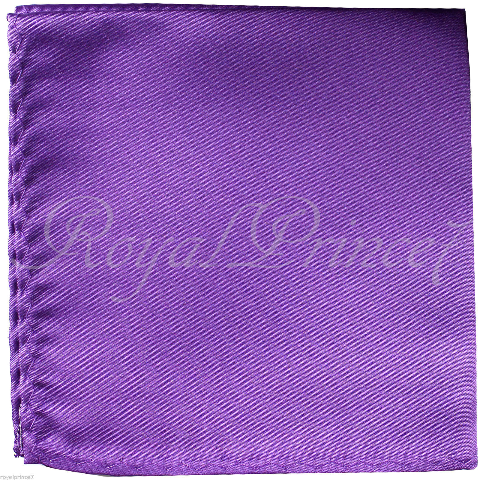 New Men's Lavender Micro Fiber Solid Handkerchief Pocket Square Hanky Wedding