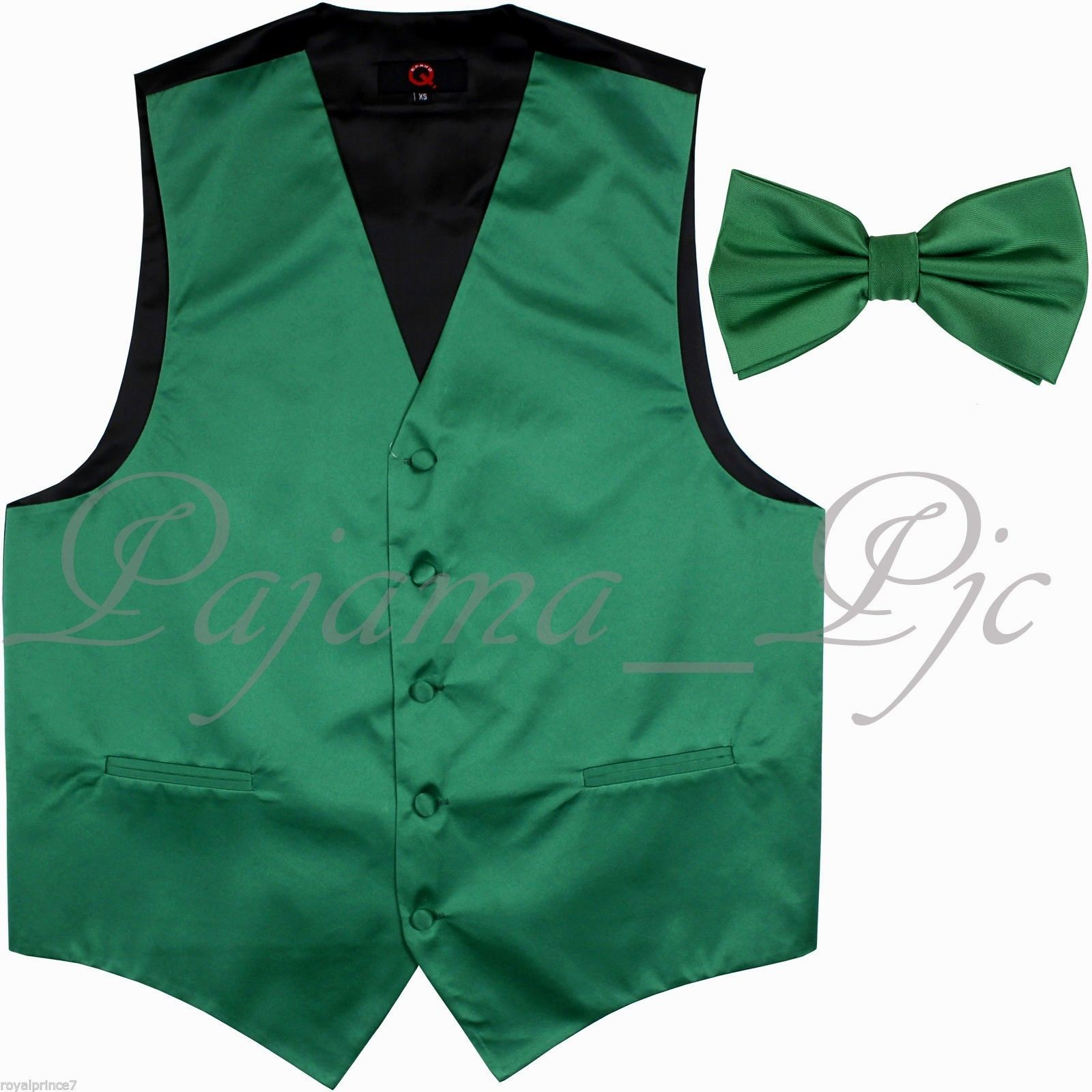 Emerald Green Solid Tuxedo Suit Vest and 50 similar items