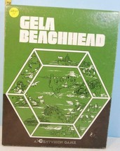 GELA Beachhead WWII Fighting in Sicily Centurion Games 1983 1/2 Punched - $14.80