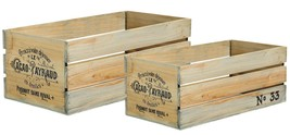 Distressed Wood Window Crate Planters - $27.29