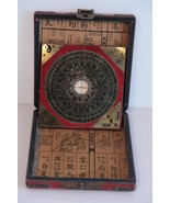 Chinese Compass in Wooden Box.  Working - $44.55