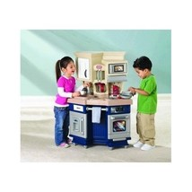 Kids Play House Kitchen Set Food Toy Pretend Ac... - $140.25