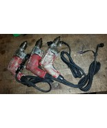 1 MILWAUKEE MAGNUM HOLE-SHOOTER 0234-1 DRILL DRIVER 120V 0-850 RPM WORKS... - $55.00