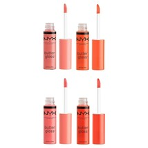 NYX* (1) Tube BUTTER GLOSS Soft+Smooth LIP COLOR Wand Applicator *YOU CH... - $6.01