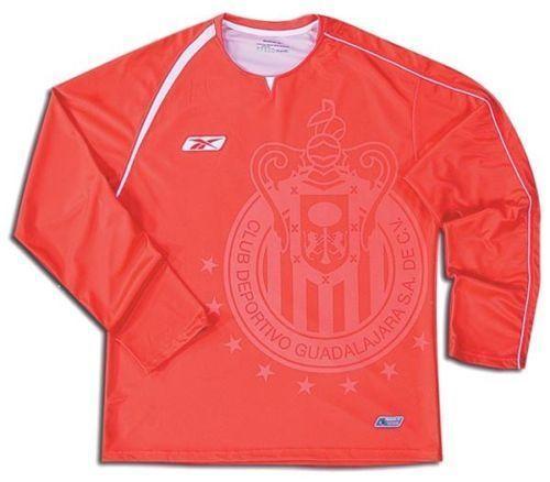 9c10823d4ac 57. 57. Previous. REEBOK CHIVAS DE GUADALAJARA GOALKEEPER JERSEY 2005 06  OSWALDO SANCHEZ RED. REEBOK CHIVAS ...