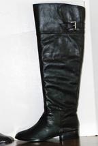 Michael Kors Greenwich Riding Black Leather Fla... - $58.20