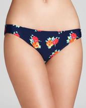 Shoshanna Blue Multi Swimwear Bikini Garden Cove Brief S Small NWT - $15.13