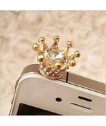Crystal Crown Dust Plug for cellphone - $7.84