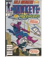 Marvel Solo Avengers #1 Hawkeye And Mockingbird Clint Barton Action Adve... - $1.95