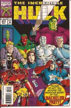 Marvel The Incredible Hulk #417 Rick Jones Bruce Banner Action Adventure - $1.95