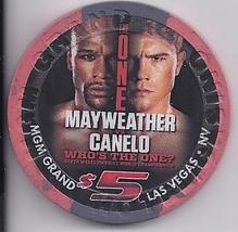 Mayweather Vs Canelo Sept 14 2013 $5 @ Mgm Grand Boxing Chip - $14.95