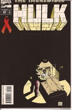 Marvel The Incredible Hulk #420 Aids Issue Bruce Banner Action Adventure - $1.95