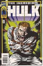 Marvel The Incredible Hulk #426 Rick Jones Bruce Banner Adventure - $1.95