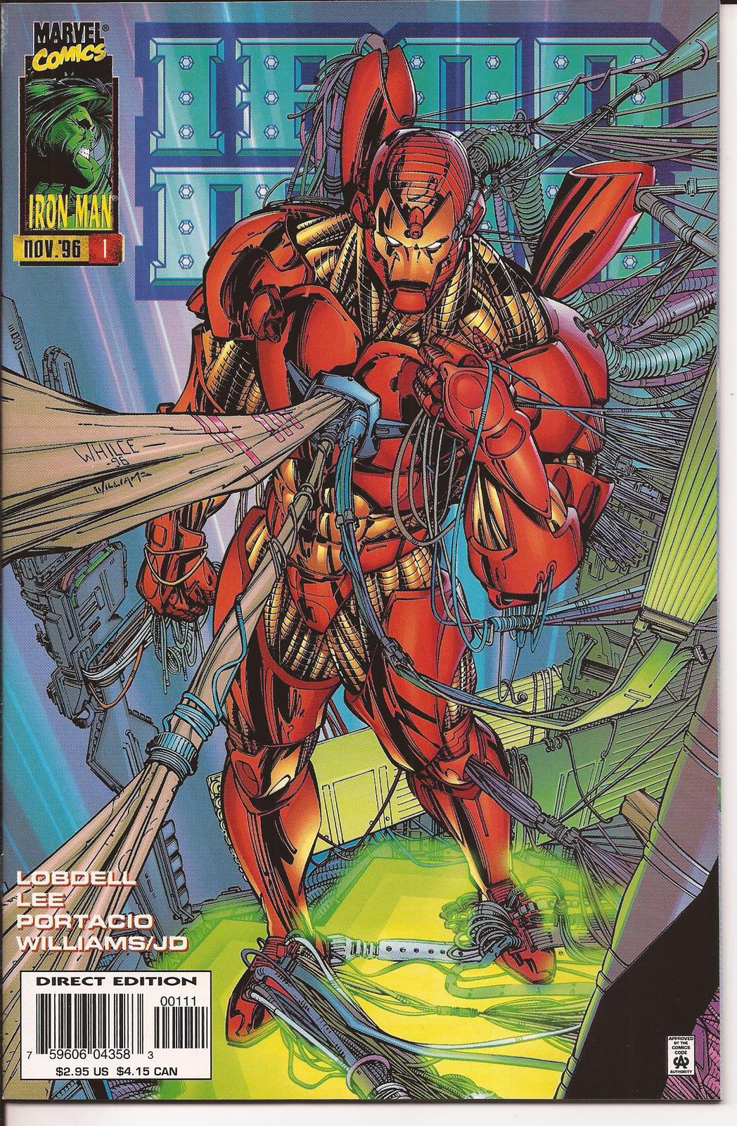 Marvel Iron Man 1 Premiere Issue Heart Of The Matter Tony