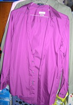 Calvin Klein Ladies Regular Fit L 14.5 Teal purple - $12.00