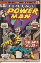 Marvel Luke Cage, Power Man #26 The Night Shocker Action Adventure - $1.95