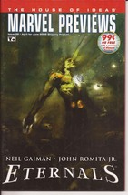 Marvel Previews #32 The House Of Ideas Eternals Neil Gaiman Action Adven... - $1.95
