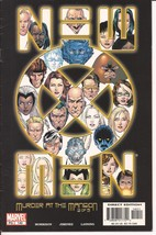 Marvel New X-Men #140 Murder At The Mansion 2 of 5 Professor X Mutants - $2.95