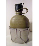 Canteen and Metal Cup US Military 1980s and Des... - $14.99